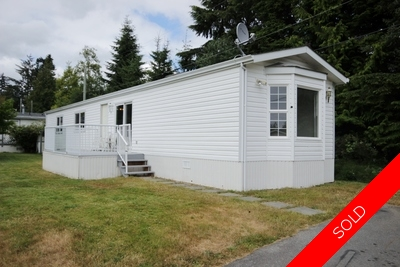 Gorgeous 2 bedroom 2 Bathroom Manufactured Home in Sooke - Completely Updated - Like Brand New!