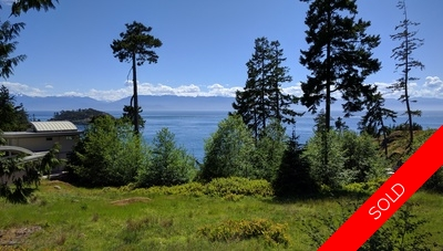 Waterfront Half-Acre Lot for Sale - Silver Spray, Sooke, BC