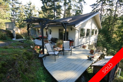 East Sooke, Victoria, BC,  House for sale:  .68 acre, 3 bedroom 1600 sqft (Listed 2009-10-06)
