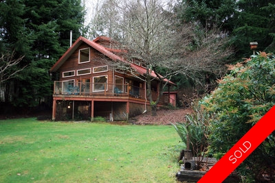 Sooke House on Acreage for sale: French Beach 2 bedroom  Hardwood Floors 1,154 sq.ft. (Listed 2010-01-14)
