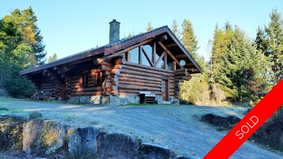 Ocean-View Log Cabin AND West Coast House on 2.47 Acres - Tim Ayres Royal LePage | Sooke Real Estate