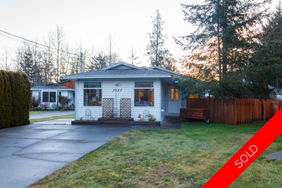 Starter or Retirement Home For Sale in Sooke - Whiffin Spit House for sale: 3 bedroom 1,090 sq.ft. (Listed 2017-01-20)