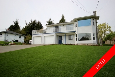 Ocean-View 5 Bedroom Family Home For Sale in Sooke - $529,900 - 9500 sqft lot - Tim Ayres - Royal LePage